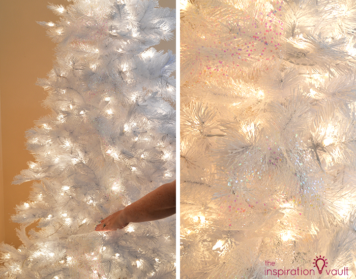 My Winter Wonderland Christmas Tree Deco Mesh