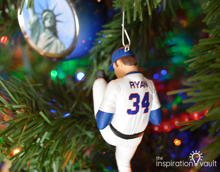 Nolan Ryan Ornament