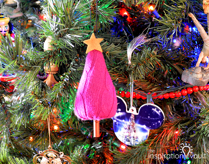 Pink Tree Ornament