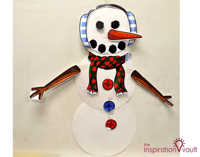 Printable Snowman Party Game Complete
