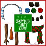 Printable Snowman Party Game