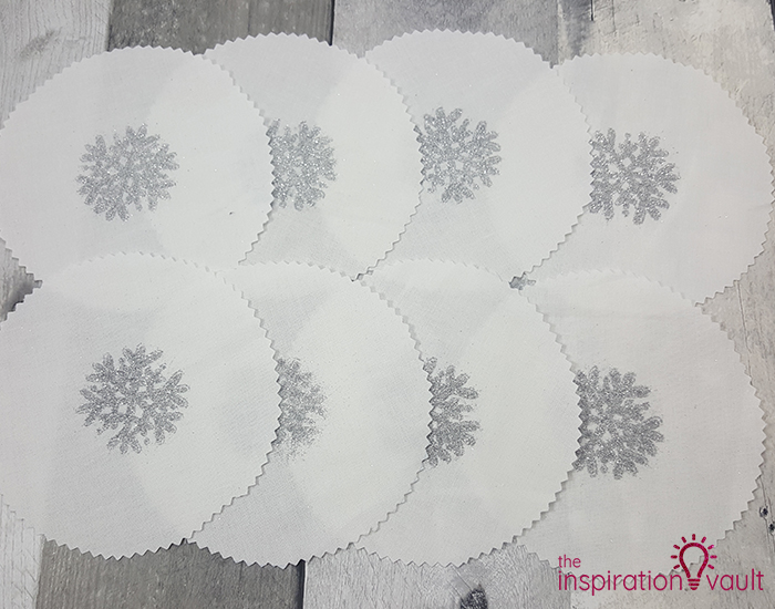 Winter Themed Hot Cocoa Party Favors Step 5b