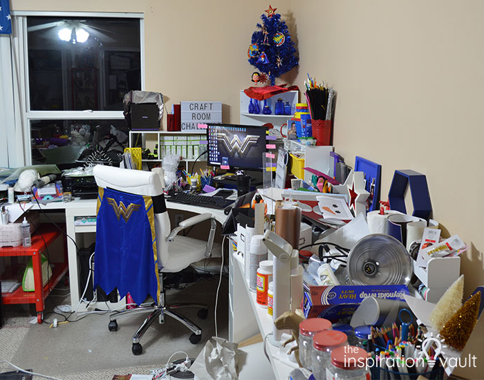 CRC Marie's Craft Room Before 1