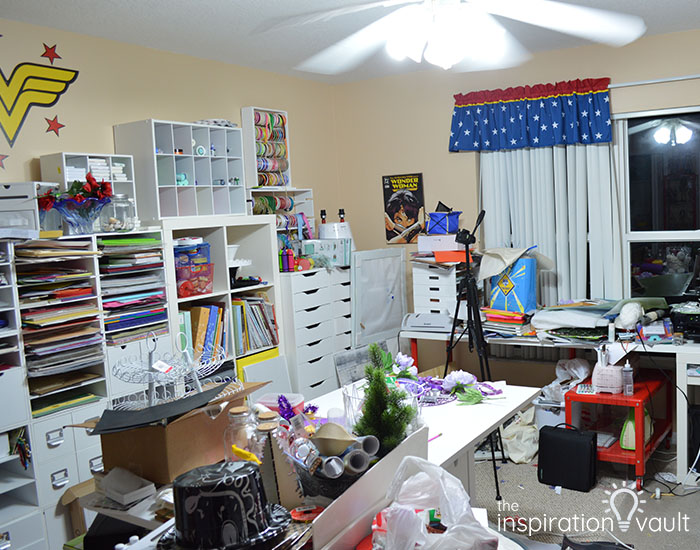 CRC Marie's Craft Room Before 2