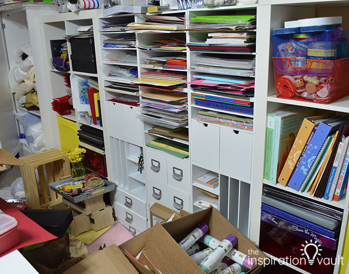 CRC Marie's Craft Room Before 4
