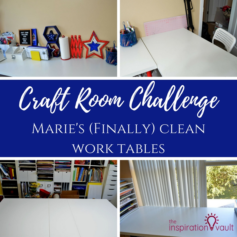 CRC Marie's Finally Clean Work Tables Feature
