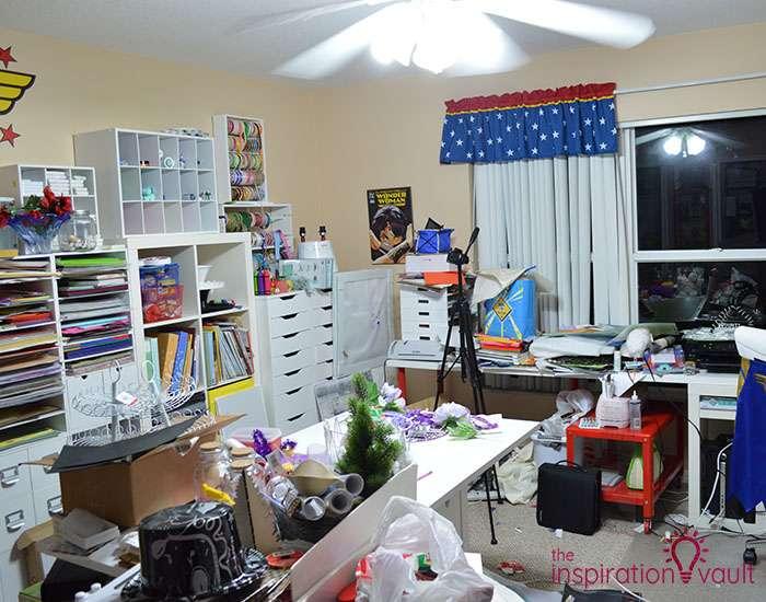 Craft Room Challenge Marie's Neverending Purge 1