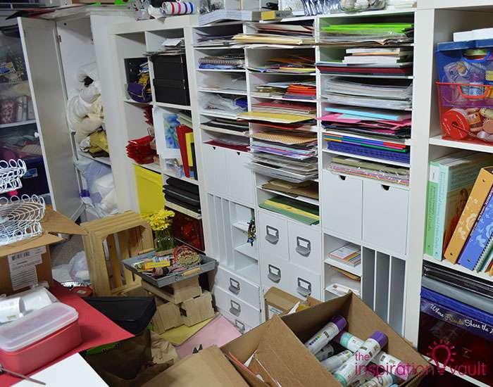 Craft Room Challenge Marie's Neverending Purge 2