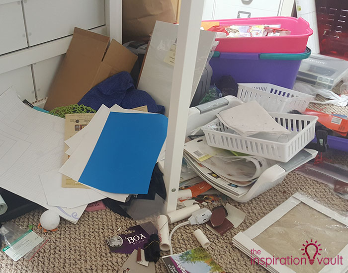 Craft Room Challenge Marie's Neverending Purge 5