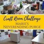 Craft Room Challenge Week 2: Marie's Neverending Purge