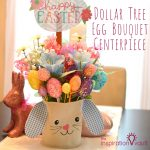 Dollar Tree Egg Bouquet Centerpiece