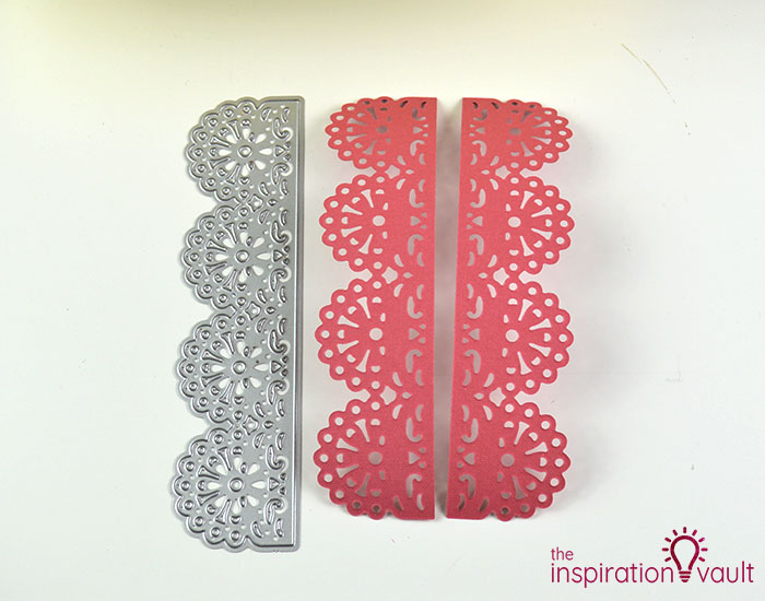 Handmade Embossed Mother's Day Card Cutting Step 4b