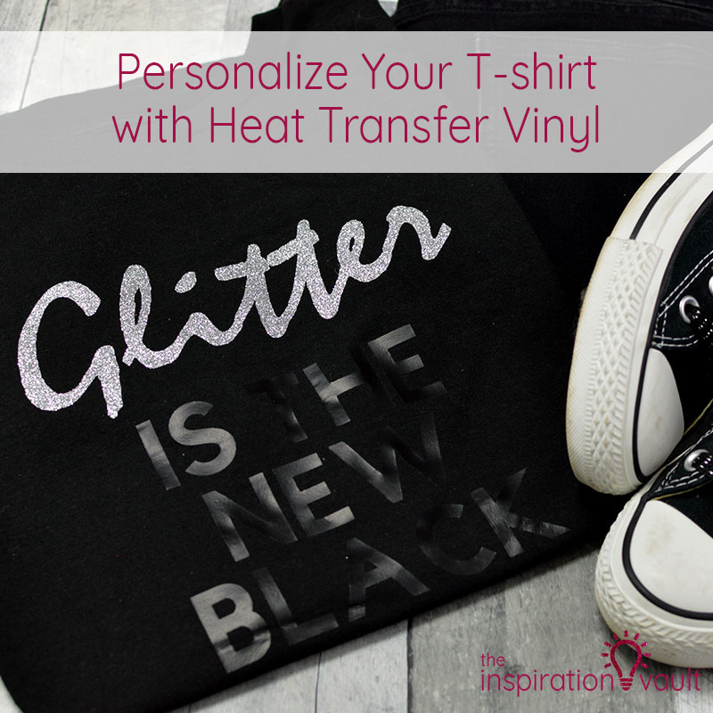 Personalize Your T-shirt with Heat Transfer Vinyl Feature