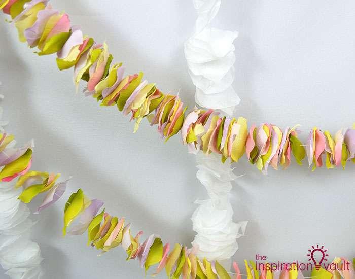 DIY Flower Petal Garland Complete 1