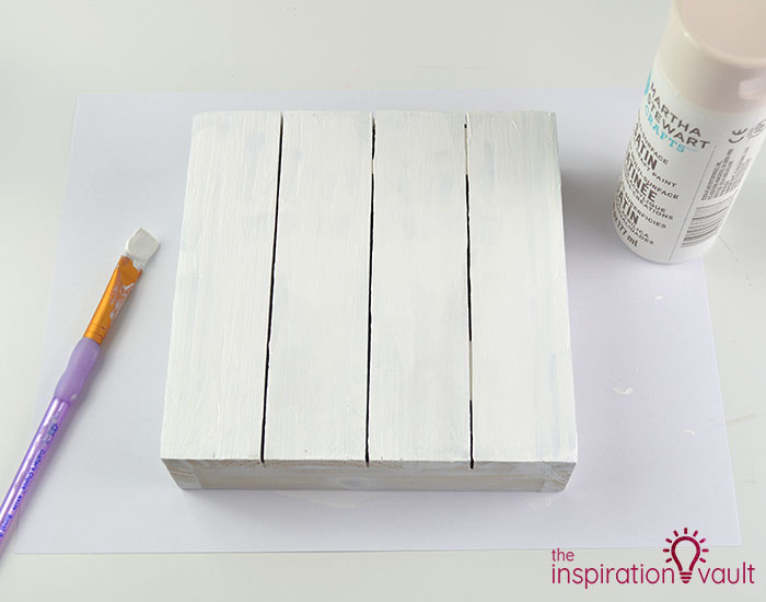 Upcycled Wood Sign for Spring Step 1b