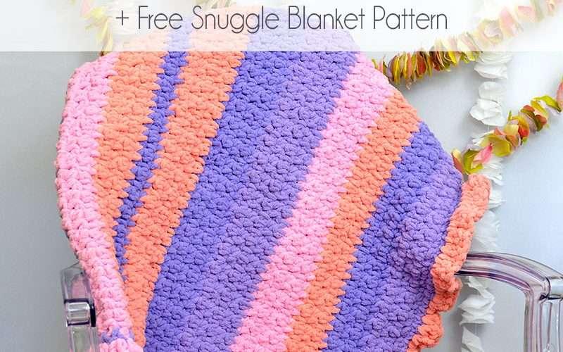 Self-Striping Blanket Yarn Feature