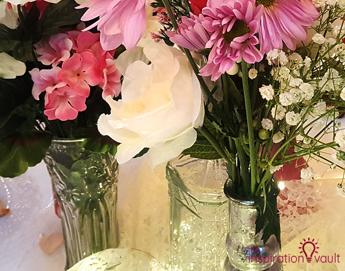 Transform Dollar Store Vases Into Boho Wedding Centerpieces The