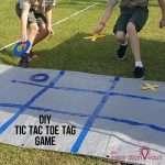 DIY Tic Tac Toe Tag Game