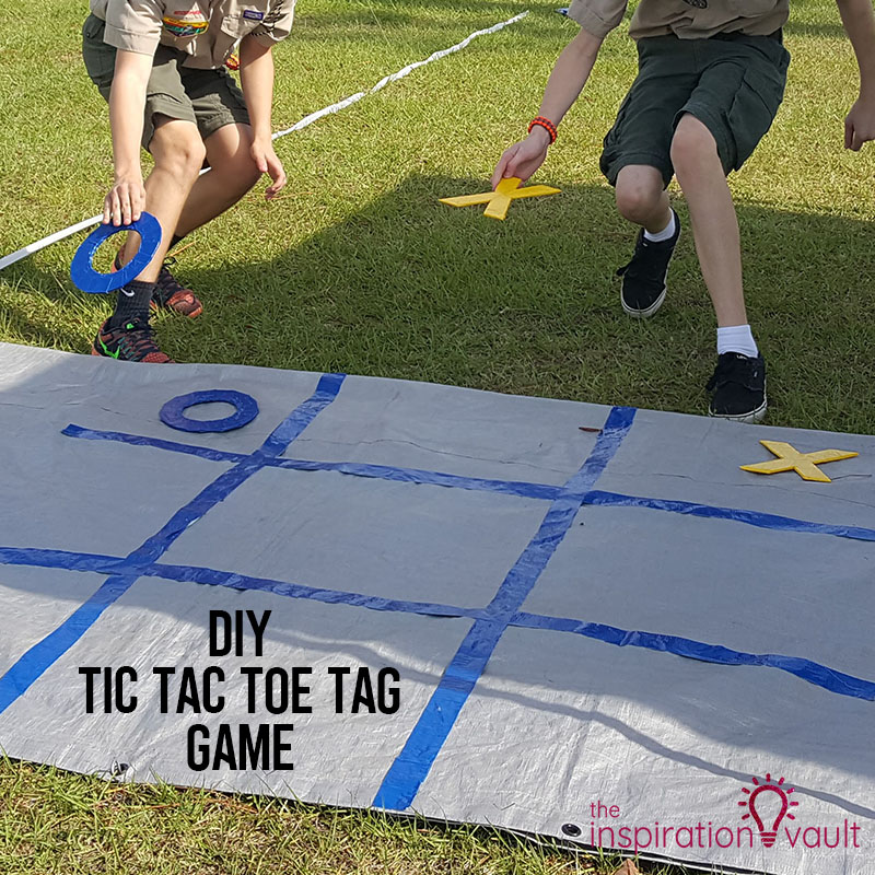 DIY Tic Tac Toe Tag Game Feature