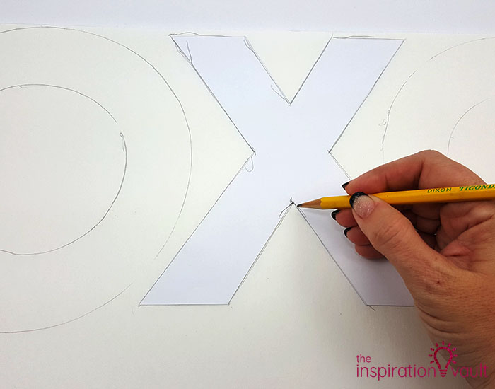 DIY Tic Tac Toe Tag Game Step 1