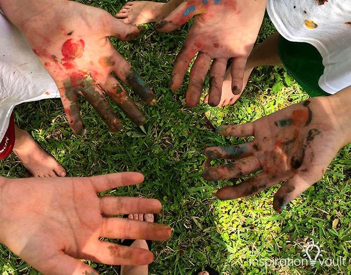 Nerf Battle Splatter Paint T-shirts Step 6b
