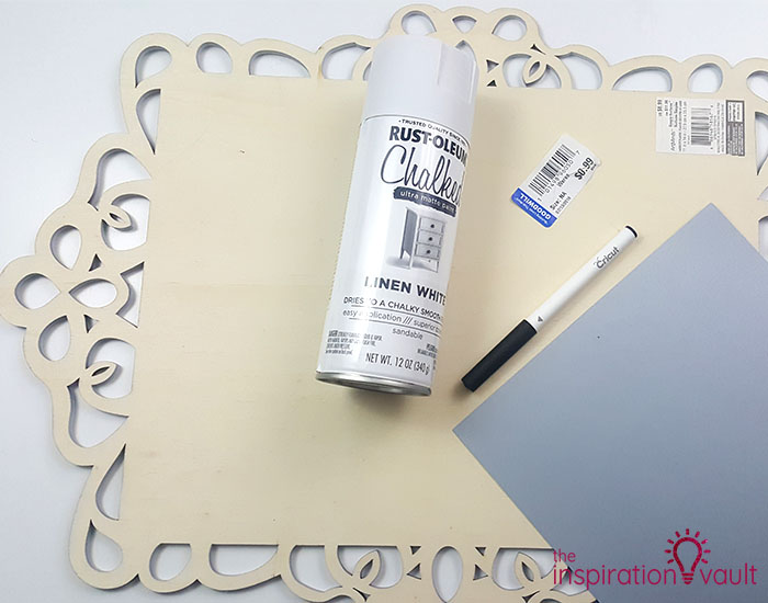DIY Wedding Seating Chart Materials