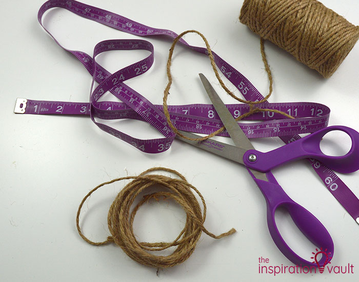 Make a Burlap Garland in Less Than 15 Minutes Step 1
