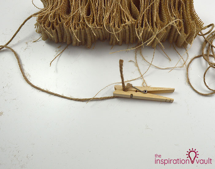 Make a Burlap Garland in Less Than 15 Minutes Step 7