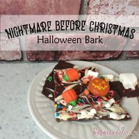 Nightmare Before Christmas Halloween Bark Feature