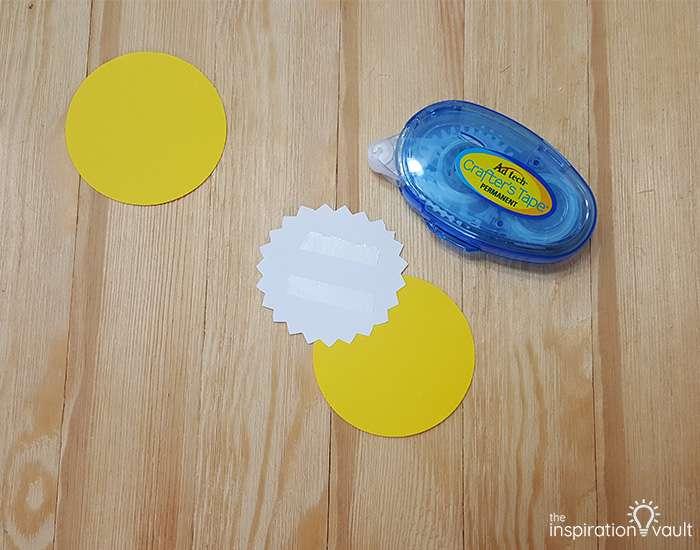 Light Bulb Teacher Gift Step 4a
