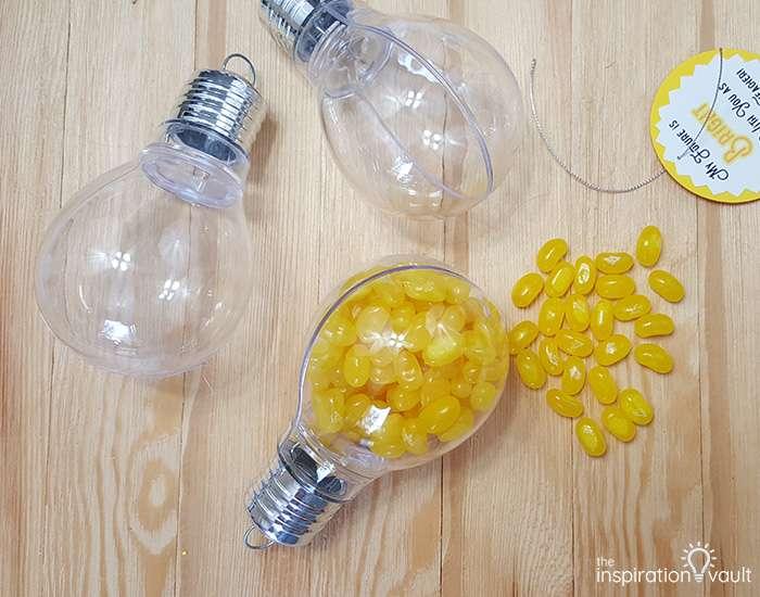 Light Bulb Teacher Gift Step 7