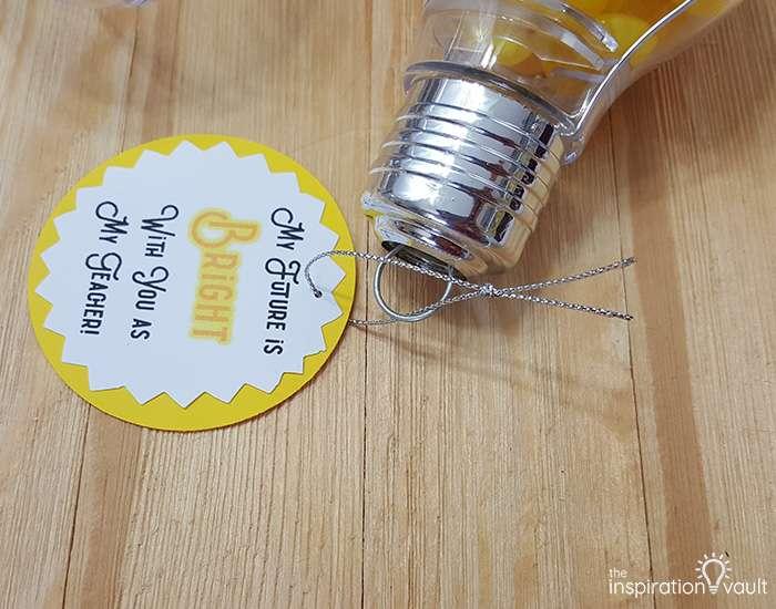 Light Bulb Teacher Gift Step 8