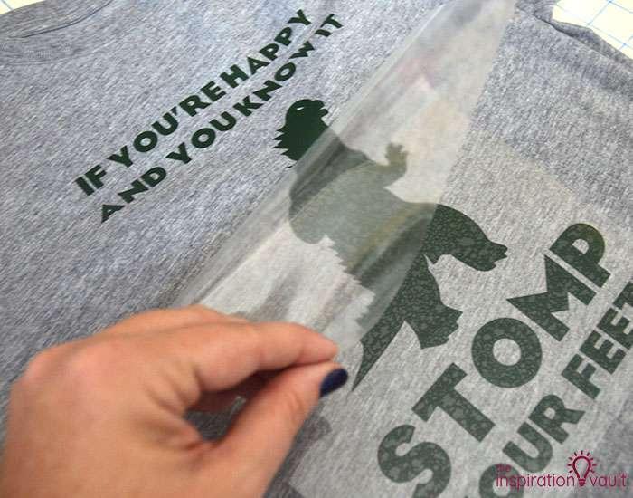 Happy Godzilla T-shirt Step 7d