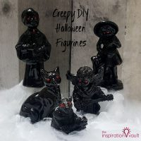 Creepy DIY Halloween Figurines Feature