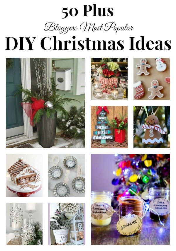 12 Days of Christmas Ideas with over 50 bloggers contributing crafts and recipes and projects for the holidays. #christmas #crafts #diy #recipes #holidays