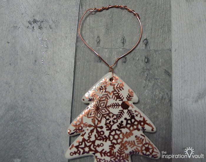 Add Copper Accents to Ceramic Ornaments Complete