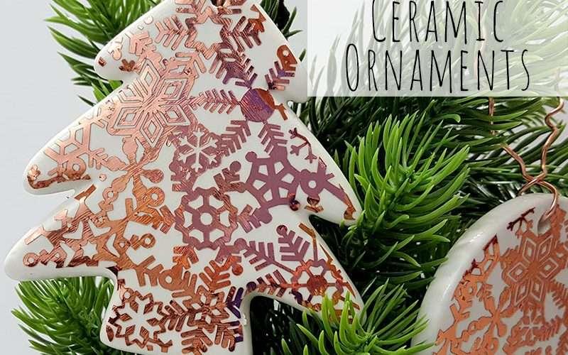 Add Copper Accents to Ceramic Ornaments Feature