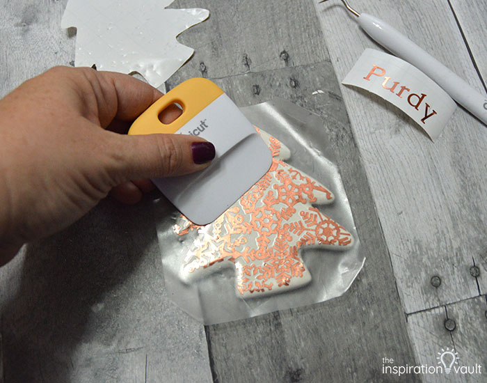Add Copper Accents to Ceramic Ornaments Step 8a