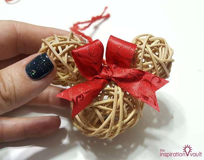 Dollar Tree Rustic Mickey Ears Ornament Step 4b