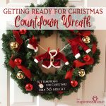 Getting Ready for Christmas Countdown Wreath