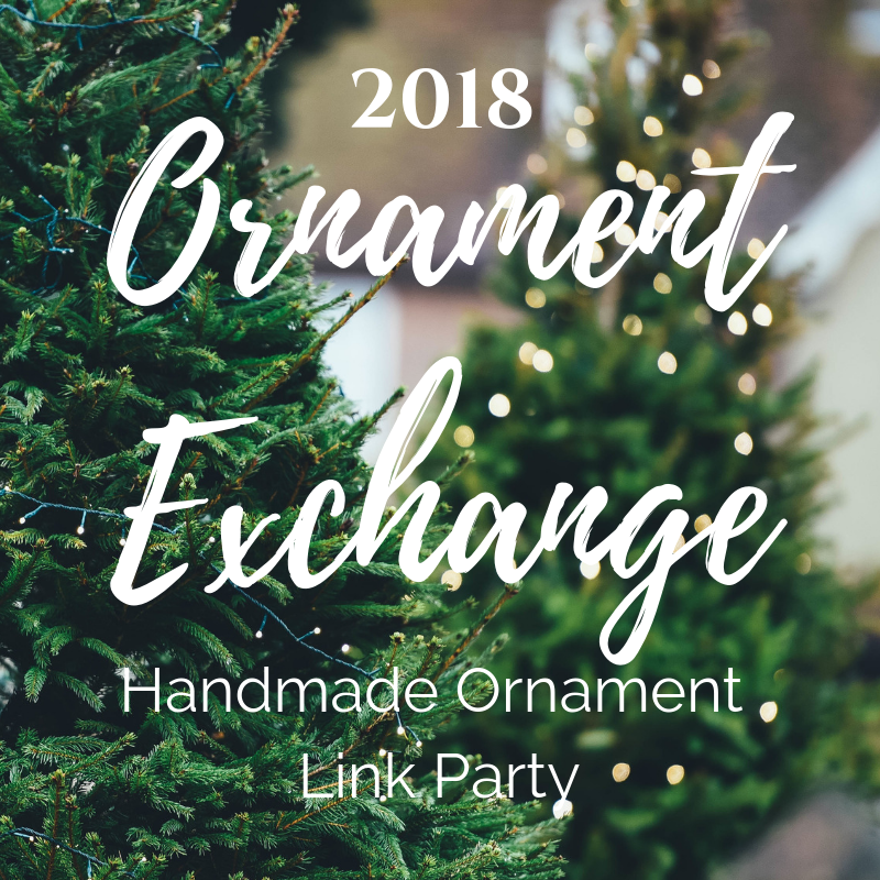2018 Ornament Exchange Link Partyfor  DIY Craft Handmade Ornaments #handmadeornament #ornamentexchange #christmascraft #linkparty