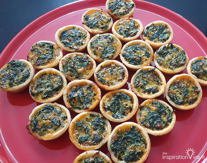 The Best Mini Spinach Quiches You've Ever Tasted Complete