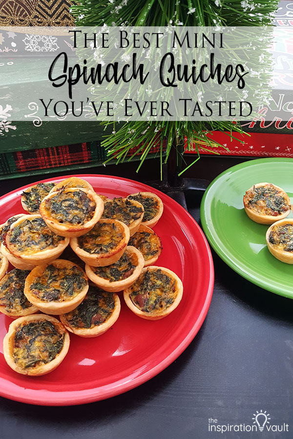 The Best Mini Spinach Quiches You've Ever Tasted Holiday Party Food Recipe