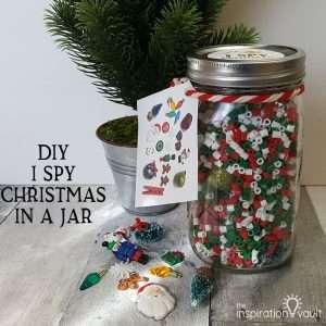 DIY I Spy Christmas in a Jar Feature