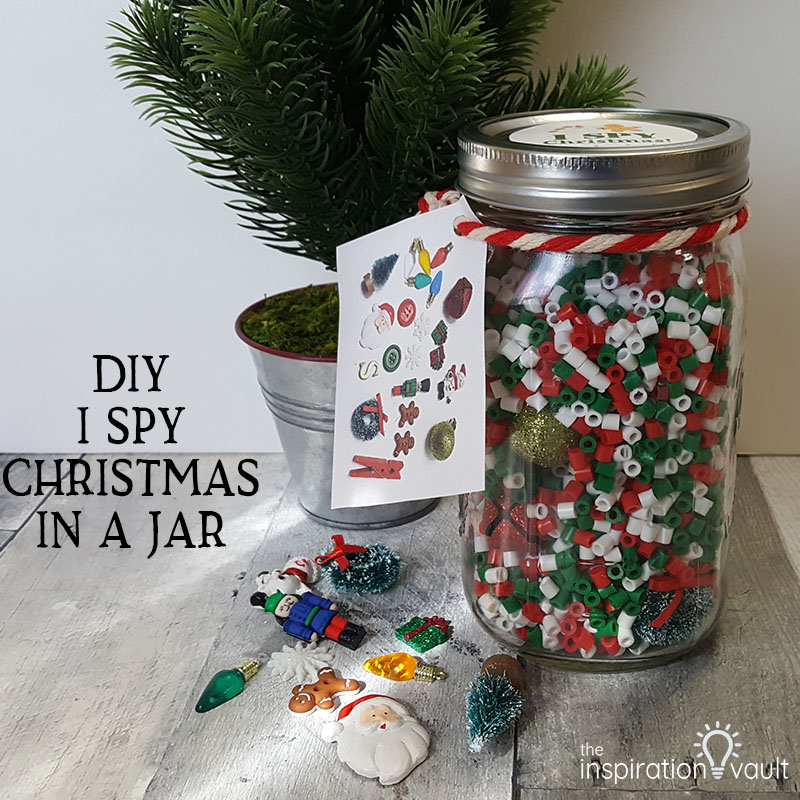 DIY I Spy Christmas in a Jar Feature
