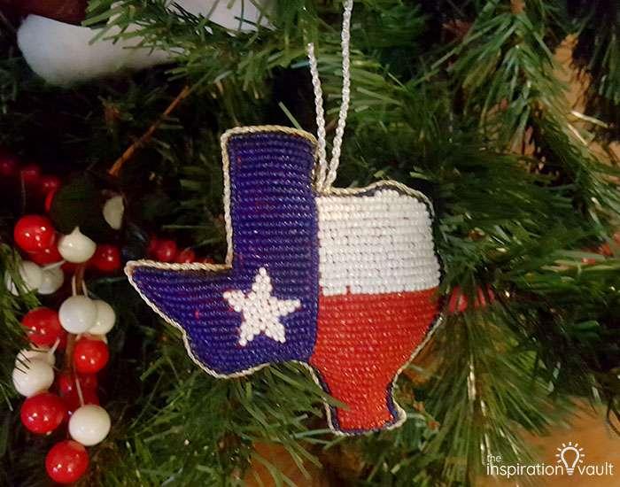 My Family Christmas Tree The Treequel Beaded Texas Ornament