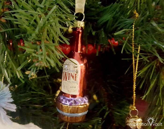 My Family Christmas Tree The Treequel Food & Wine Festival Ornament