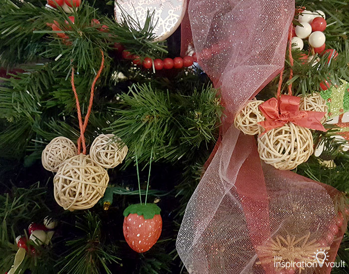 My Family Christmas Tree The Treequel Rustic Mickey Earsl Ornament