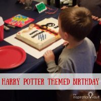 Harry Potter Themed Birthday Feature Image