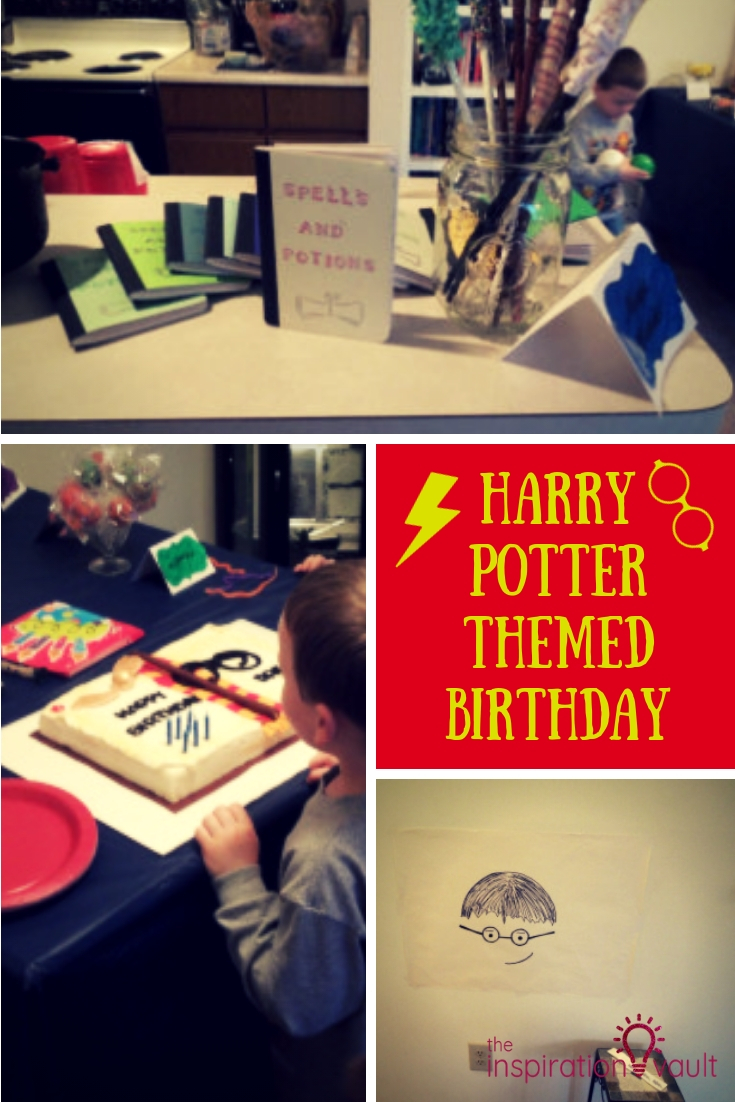 Harry Potter Themed Birthday with Wizards, Spells, Cakes, Treats
